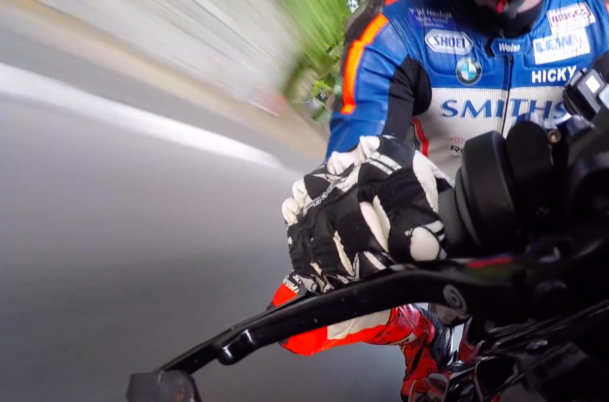 Take a Lap Around the Isle of Man TT on the BMW HP4